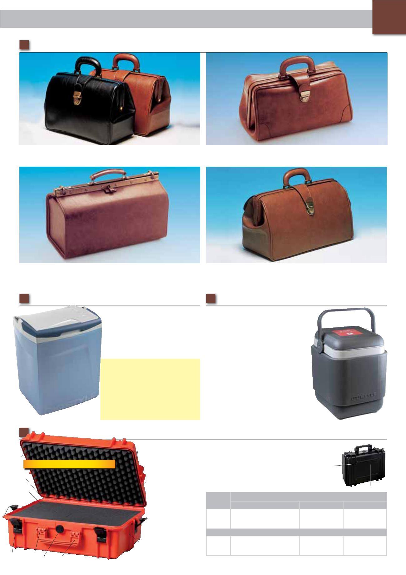 Gima International Catalogue 2014-2015 - page 57. MEDICAL BAGS. 48. • 27105  SUPERTEXAS skay - colour  cognac 3c81a8060d3