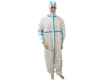 TAPED SEAM INSULATION COVERALL - Type 4B-5B-6B - S - disposable