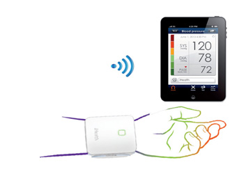 BP7 WIRELESS BLOOD PRESSURE MONITOR - wrist
