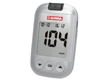 GIMA GLUCOSE MONITOR KIT mg/dL - GB, FR, ES, PT