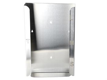 GLOVE DISPENSER - triple - stainless steel