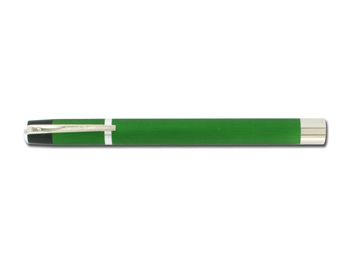 LUCCIOLA ARGENTA - metallo - verde