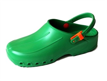 ULTRA LIGHT CLOGS with straps - 43 - green