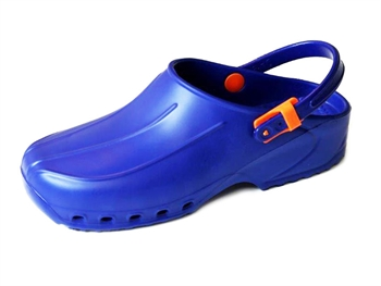ULTRA LIGHT CLOGS with straps - 37 - blue