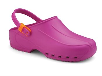 ULTRA LIGHT CLOGS with straps - 39 - fuchsia