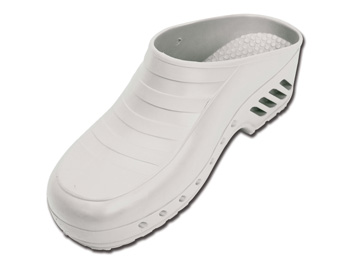 GIMA CLOGS - without pores - 47-48 - white