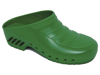 GIMA CLOGS - without pores - 39 - green