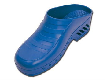 GIMA CLOGS - without pores - 47-48 - electric blue