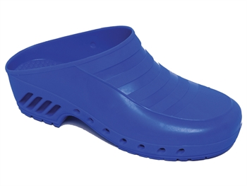 GIMA CLOGS - without pores - 35 - electric blue