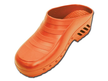 GIMA CLOGS - without pores - 43-44 - orange
