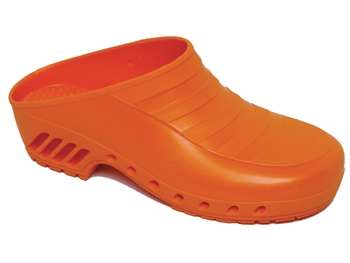GIMA CLOGS - without pores - 34 - orange