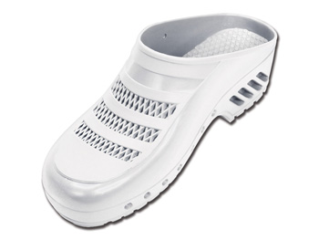 GIMA CLOGS - with pores - 38-39 - white