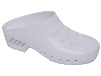 GIMA CLOGS - with pores - 41-42 - white