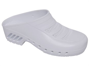 GIMA CLOGS - with pores - 43-44 - white