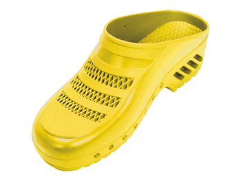 GIMA CLOGS - with pores - 42 - yellow