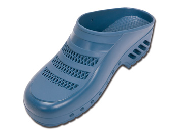 GIMA CLOGS - with pores - 35-36 - light blue