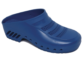 GIMA CLOGS - with pores - 43-44 - light blue