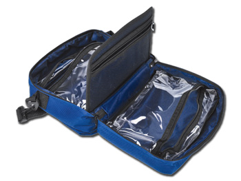 FIRST AID BAG - blue - empty