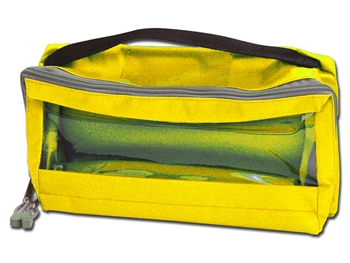 E3 RECTANGULAR BAG padded with window and handle - yellow