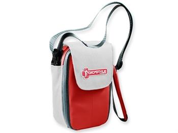 MEDI-POCKET INSULATED BAG - red/white
