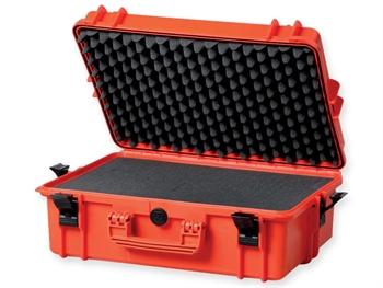 GIMA CASE 500 with internal foam - orange