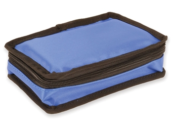 MINI DIABETIC BAG vuoto - nylon blu