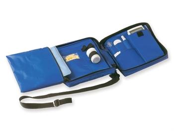DIABETIC BAG vuoto - nylon blu