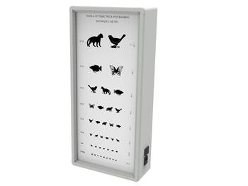 OPTOMETRIC CHART - ANIMALS