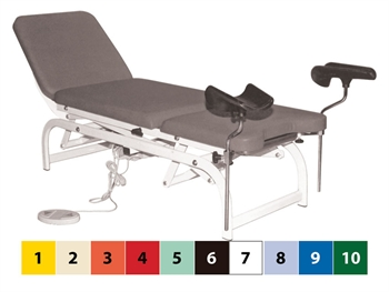 HEIGHT ADJUSTABLE GYNAECOLOGICAL BED - other colours