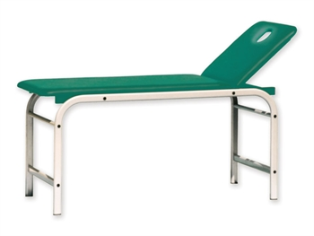 KING EXAMINATION COUCH with hole - green
