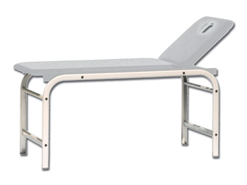 KING EXAMINATION COUCH with hole - white
