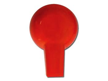 ADATTATORE PRESA FEMMINA 2 mm - rosso