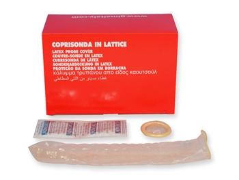 COPRISONDA IN LATTICE - per doppler ed ecografi - conf. 50 pz.