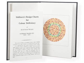ISHIHARA COLOUR TESTS - 10 tables for illiterates