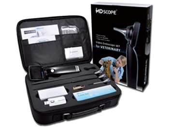 MD SCOPE VET VIDEO OTOSCOPE - 3 PROBES