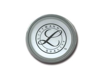 ANELLO + MEMBRANA - per Littmann® Classic II, Select, Master classic, Cardio III (lato grande) - grigio