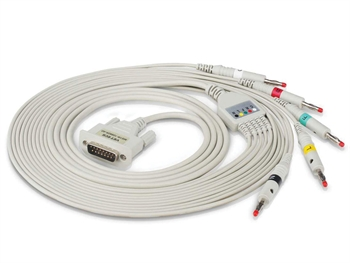5-LEAD VET ECG CABLE - spare for 33305/6
