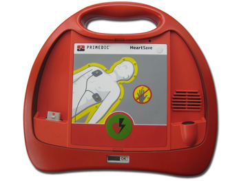 DEFIBRILLATORE HEART SAVE PAD - francese