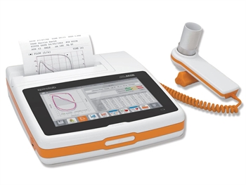 """SPIROLAB COLOUR SPIROMETER with 7"""" touchscreen, printer and software"""