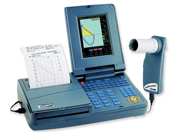 SPIROLAB III DIAGNOSTIC COLOUR SPIROMETER with printer and software