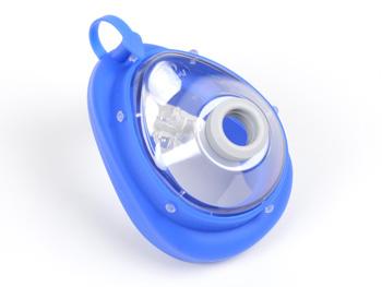 MASCHERINA AMBU® N° 6 - adulti/grande - blu