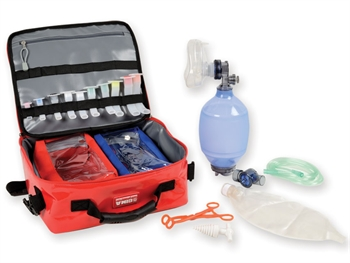 SILICONE RESUSCITATOR KIT with bag - adult