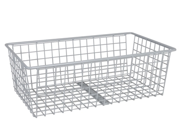 BASKET - chrome plated steel