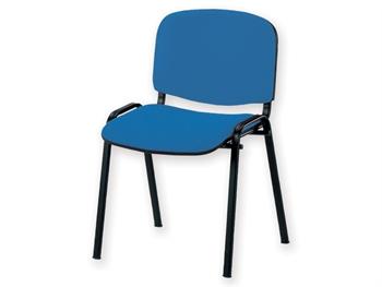 chaise iso tissu bleu tn 06. Black Bedroom Furniture Sets. Home Design Ideas