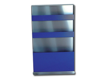 SIDE WITH 1 LARGE AND 2 SMALL COMPARTMENTS - stainless steel