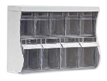 UPPER DRAWERS (5 medium + 4 large)