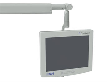 MONITOR HOLDING ARM - integrated with light