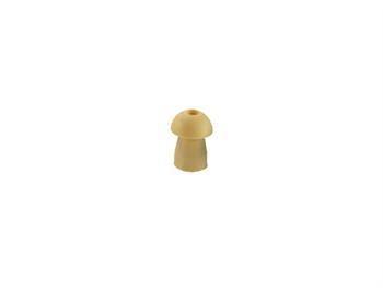 SANIBEL AZE MUSHROOM EAR TIP 13 mm - yellow
