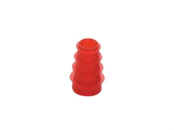 SANIBEL ADI FLANGED INFANT EAR TIP 3-5 mm - red